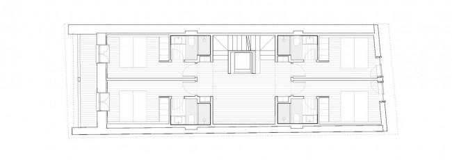 план первого этажа Comillas House