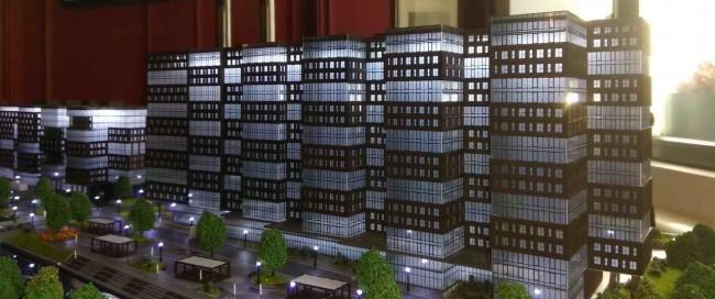 макет апартаментов Zoom