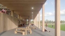 В Нидерландах построят циркулярный деревянный спортзал