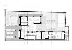 генеральный план участка с кирпичным домом