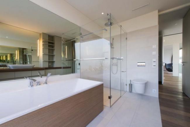 интерьер главной ванной комнаты