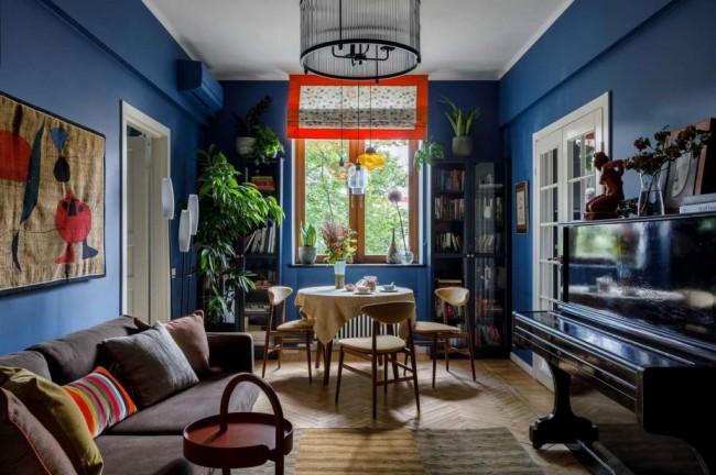интерьер гостиной Numi design