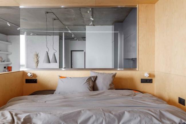 интерьер спальни makedesign