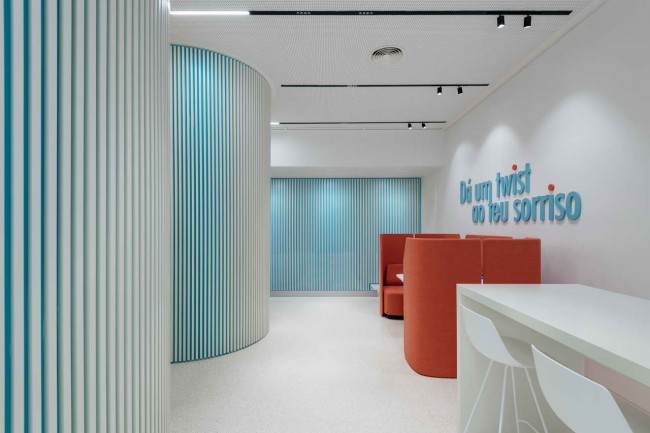 интерьер клиники Twist