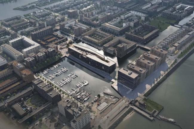 здание Йонас, вид сверху