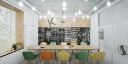 интерьер кабинета писателя