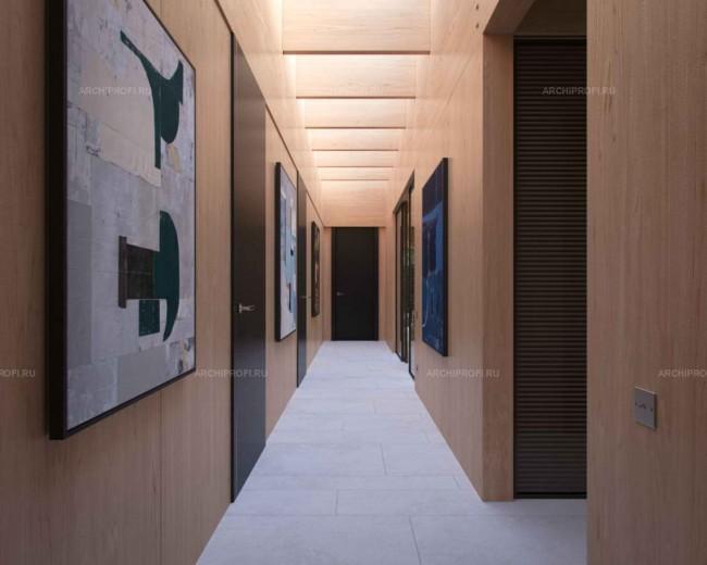 интерьер коридора, дизайнер Сергей Беляков