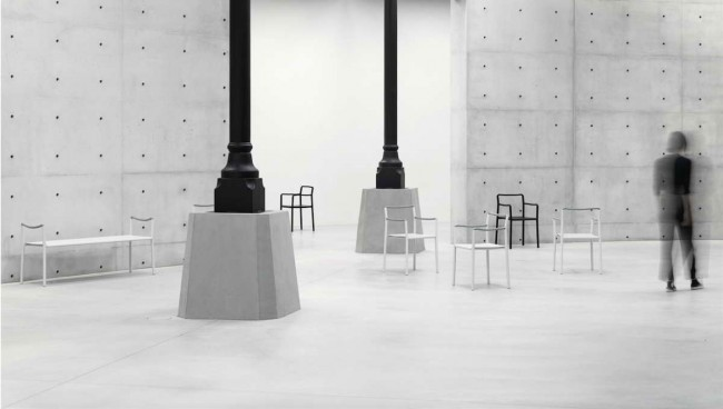 кресла Rope Chair в музее