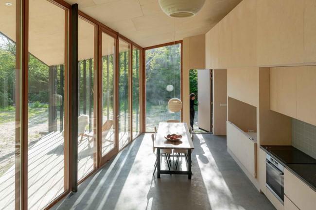 кухня в Доме для отдыха