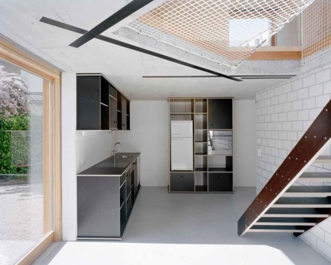 кухня в маленьком доме