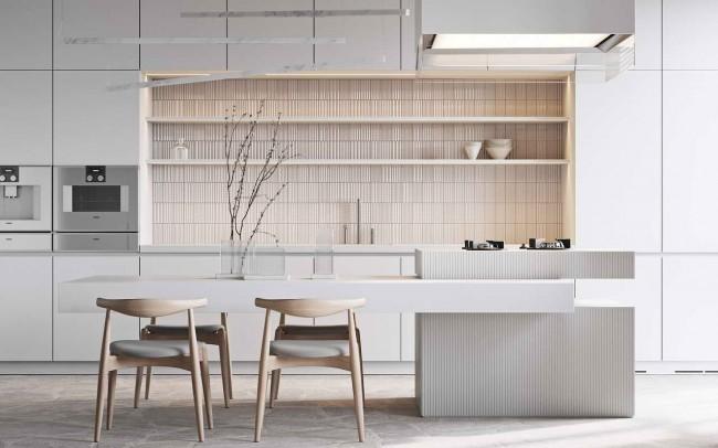 интерьер кухни-столовой, Трофимов