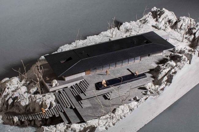макет Дома на скалах