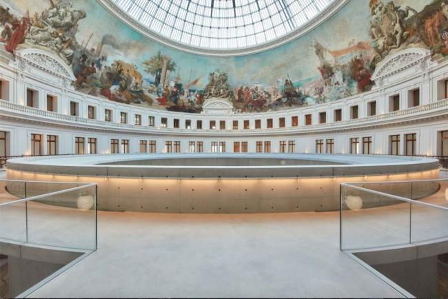Круглый корпус музея по проекту Тадао Андо