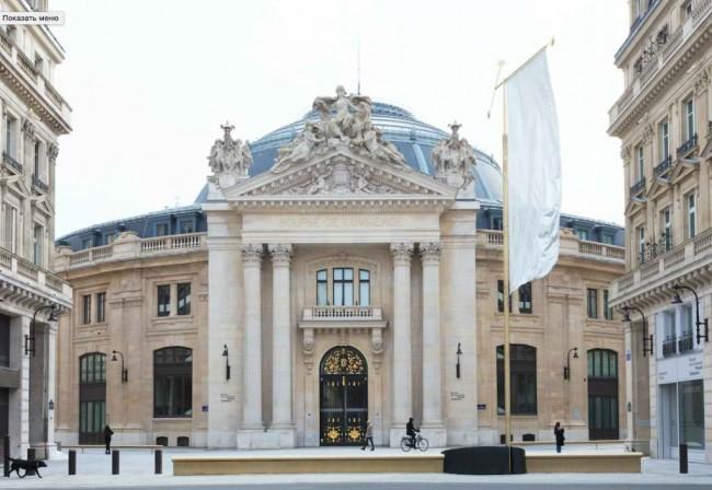 здание музея Пино в Париже