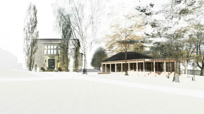 визуализация Музея климата в Осло