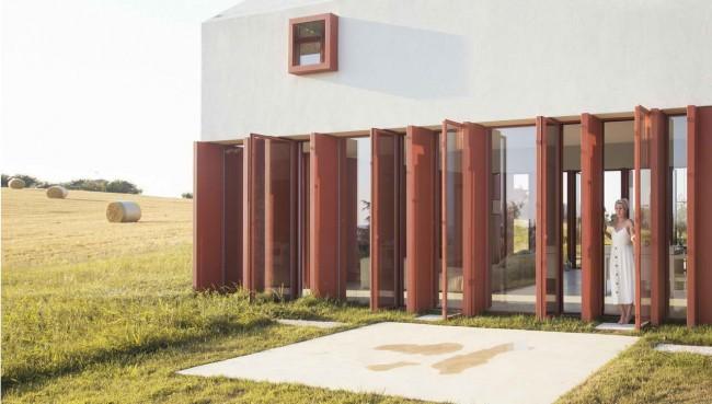 Окна в пол, Casa di Confine