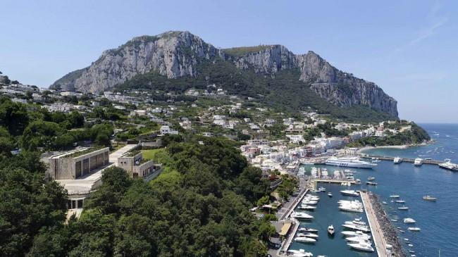 Новая электростанция на Капри: вилла для электричества