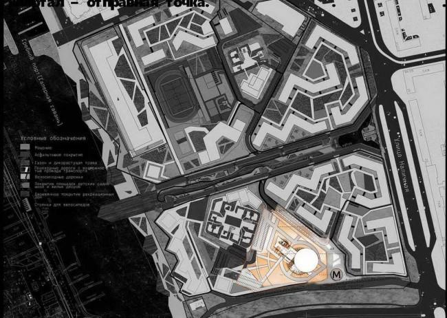 план территории для мультиплекса