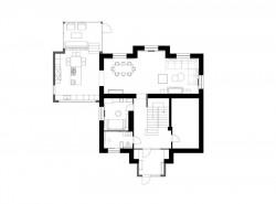 план дома после реконструкции интерьера