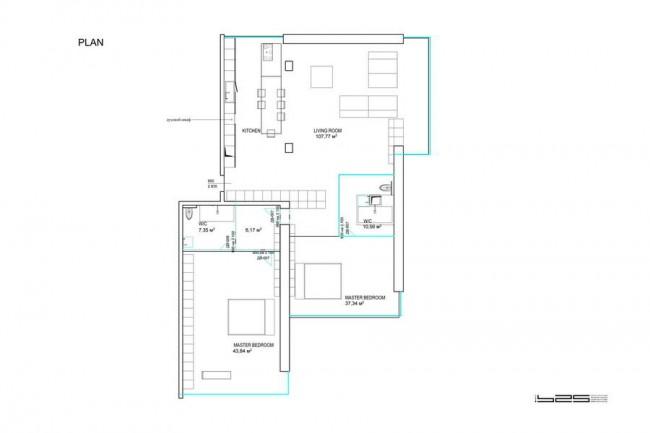 план квартиры архитектора Наседкина