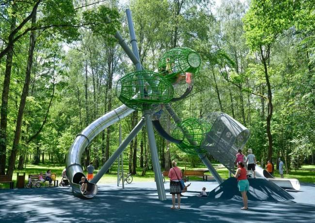 детская площадка Оливки
