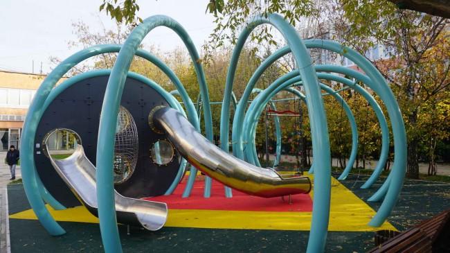 детская площадка Осьминог