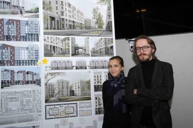 архитекторы Пётр Советников и Вера Степанская, победители конкурса «Санкт-Петербургские фасады»