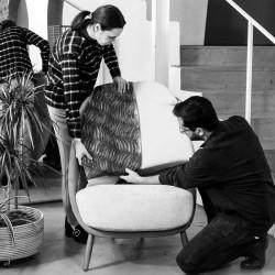 Экологичный дизайн: новое кресло Calatea Green