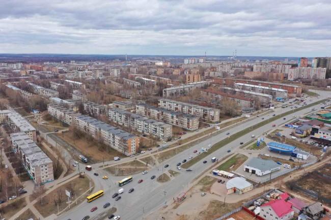архитектурный конкурс: квартал в Ижевске, реконструкция фасадов