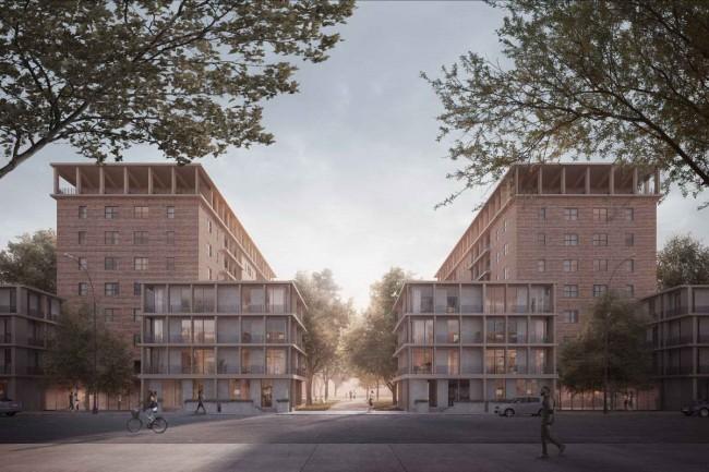 реновация жилых домов, Нью-Йорк