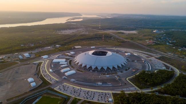 Открытый международный конкурс на мастер-план территории, прилегающей к стадиону «Самара Арена»