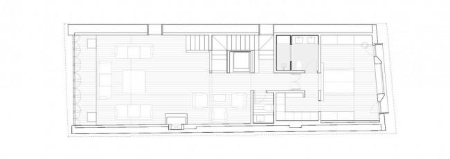 план второго этажа, Comillas House
