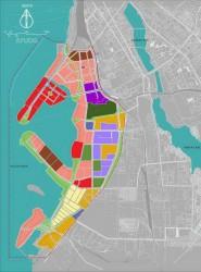 схема территории Портовой