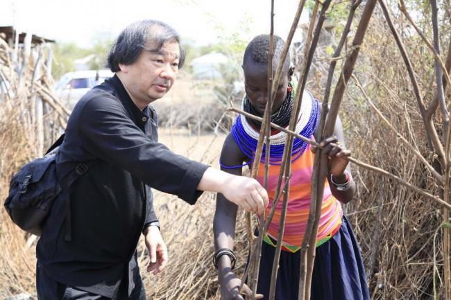 архитектор Шигеру Бан в Кении