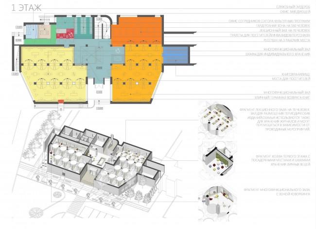 план первого этажа арт-резиденции