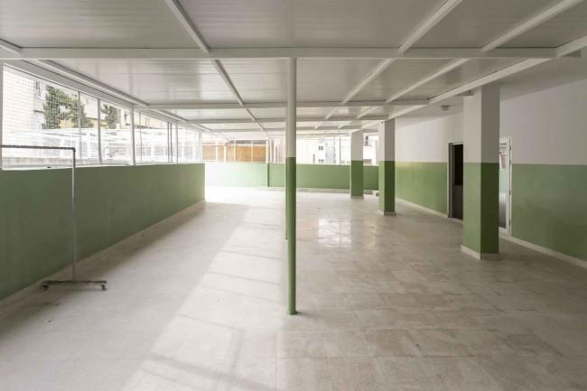 интерьер школьного холла после реконструкции