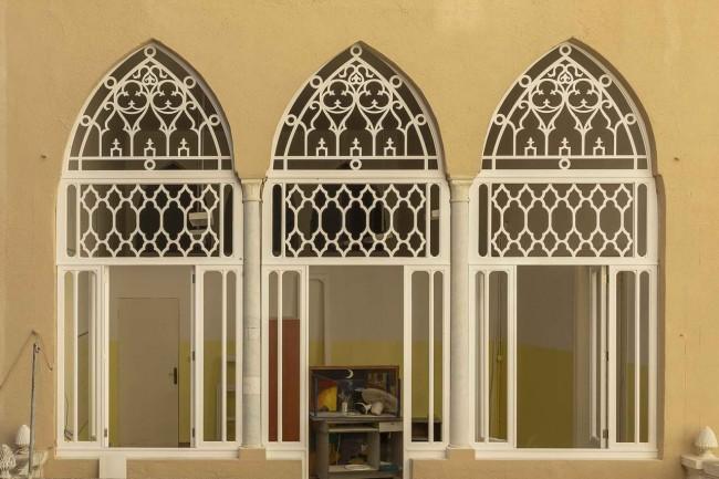 арочные окна после реставрации