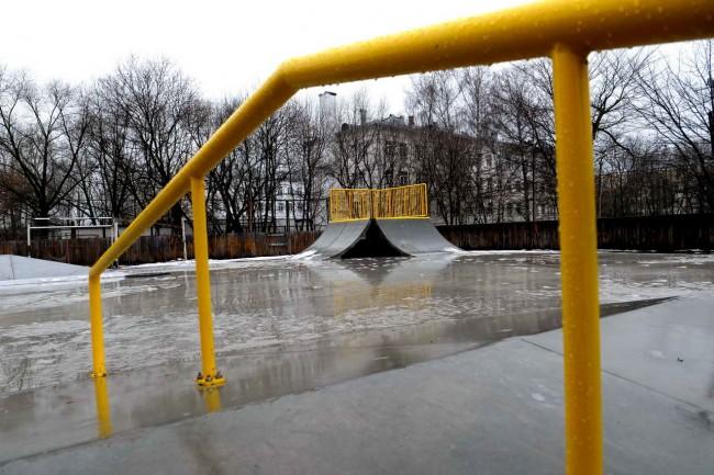 первый в России скейт-парк из сборного железобетона