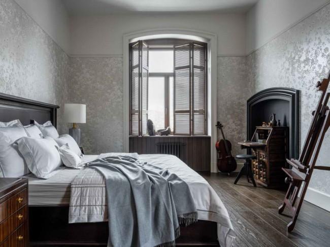 интерьер спальни, Клодт