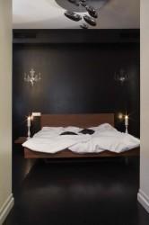 спальня в квартире на Котельнической набережной