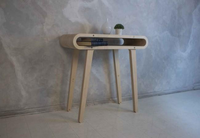 столик из фанеры, дизайн Михаил Чистяков и Родион Соснов