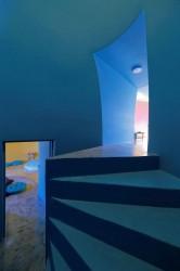 лестница в интерьере, superadob архитектура