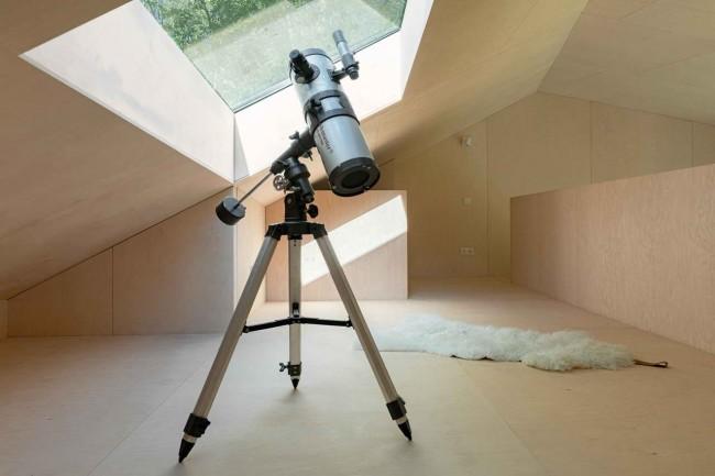 телескоп в мансарде