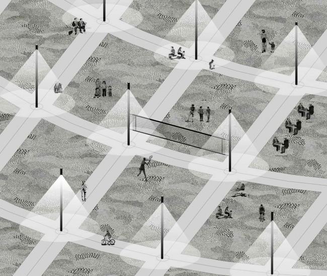 благоустройство парка, проект Колесовой