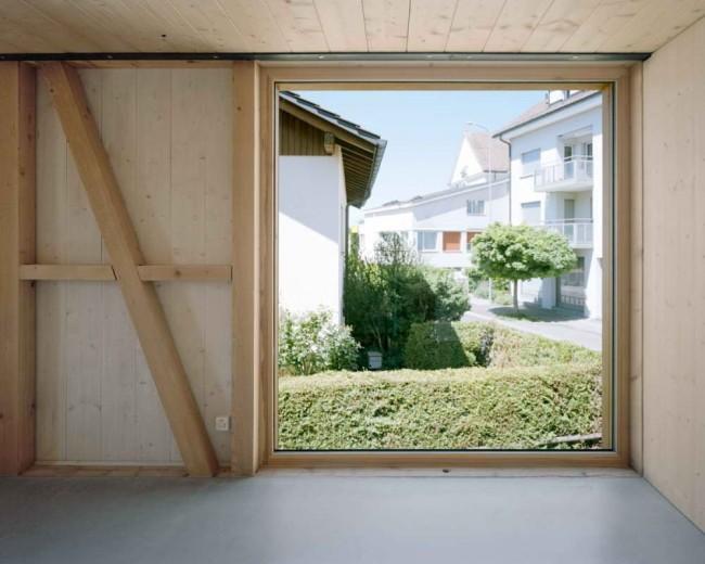 вид из окна на окружающую среду