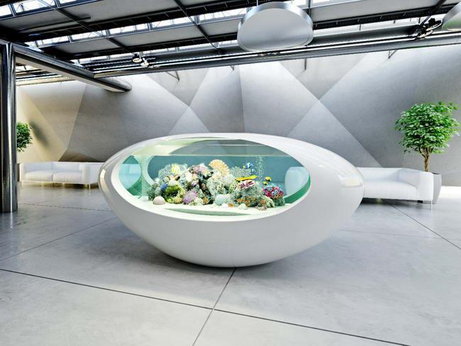 аквариум из акрилового камня UNO