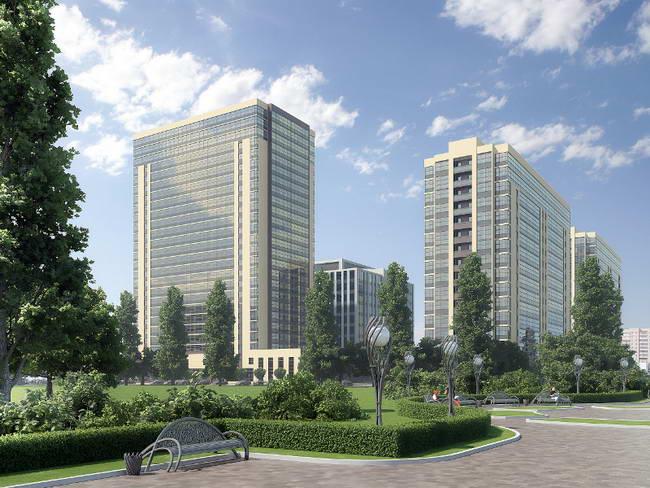 комплекс апартаментов Салют в Московском районе