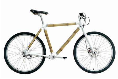 велосипед с рамой из бамбука, дизайн Росс Лавгрув (Ross Lovegrove) для Biomega