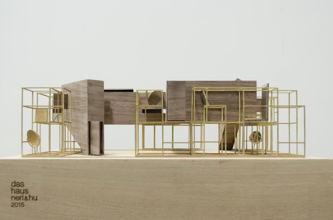 макет дома, инсталляция для выставки imm cologne 2015