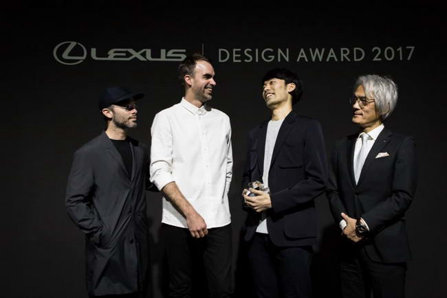 дизайнер Хирото Йошизо получает гран-при Lexus Design Award